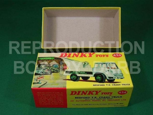 Dinky #434 Bedford TK Crash Truck - Reproduction Box